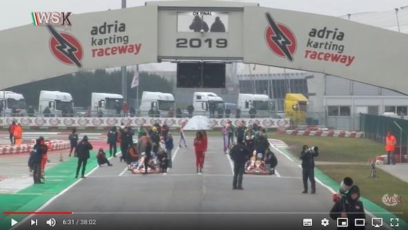 Les videos d Adria de la WSK Promotion sont en ligne