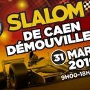 Animations slalom automobile au Karting de Caen ce 31 mars