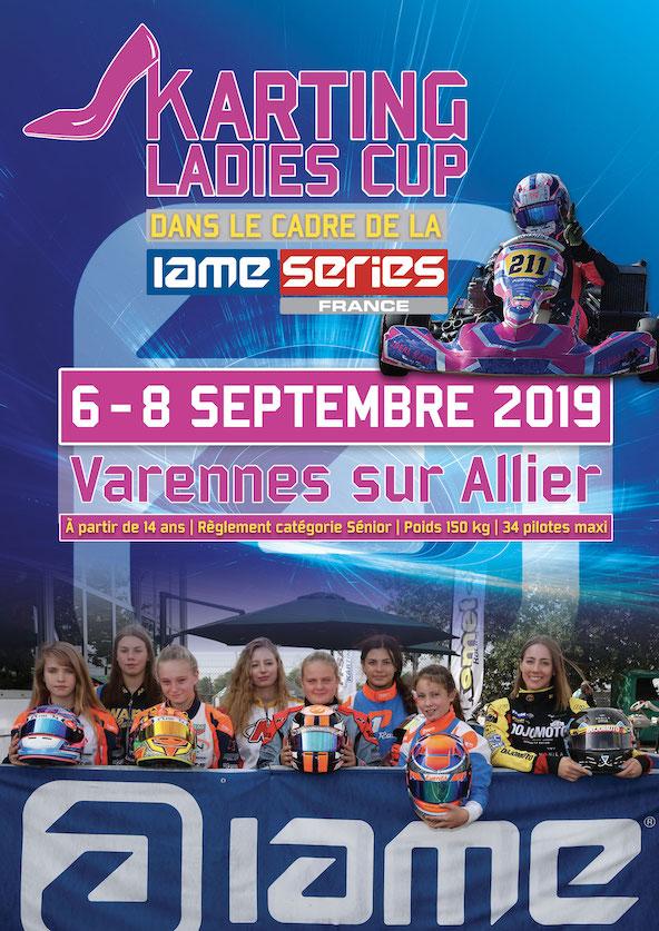La IAME Series mettra les filles a l honneur en septembre