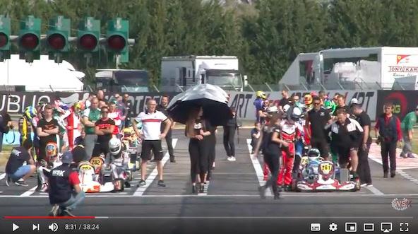 WSK: Avant le final à Sarno, découvrez les vidéos de La Conca