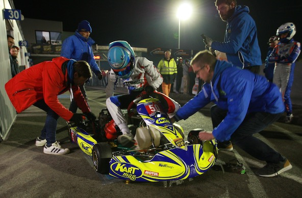 Victoire pour le club K50 du département de la Manche aux couleurs Kart Mag