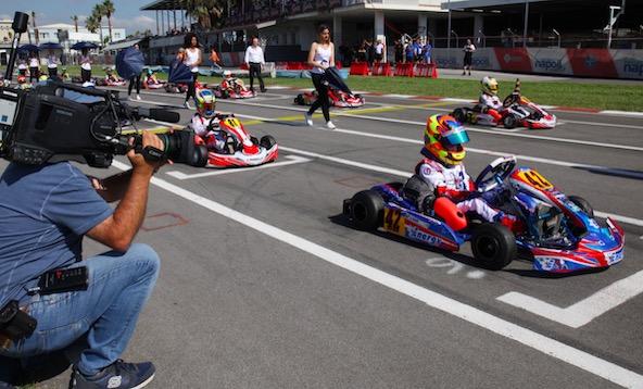 """En Championnat d'Italie, """"au pays du Karting"""", certaines catégories font recette, mais pas toutes !"""