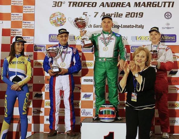 Alessandro Piccini: 2e en KFA (1er en plus de 40 ans) avec son Parilla à air