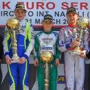 WSK Sarno: Triplé Vortex en OK-Junior, Macintyre gagne en 60 Mini
