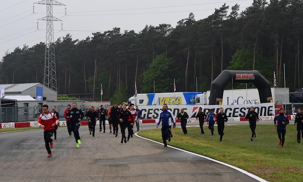 Championnat d Europe a Genk-Ambiance-9