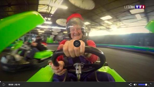 Du Karting au journal de 13H sur TF1 grâce à un EPHAD !
