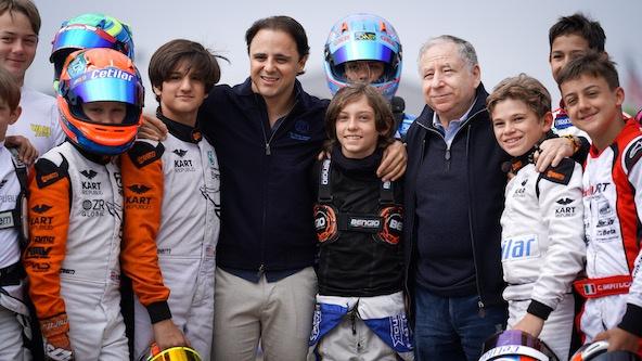 Jean Todt, Président de la FIA, en visite à l'Euro à Genk