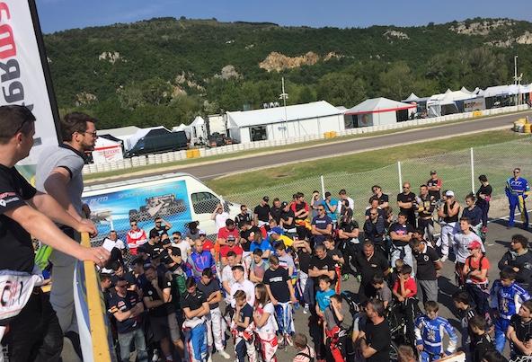 Kart Cup-Essais chronos et ambiance en direct de Valence-1