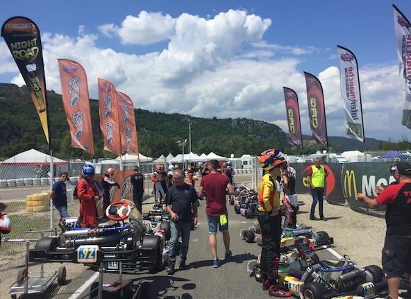 Kart Cup-Les 2 premieres manches et les chronos TTI-1