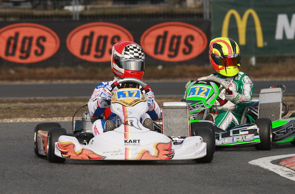 En tête de la Stars of Karting après Salbris, Camille Prouteau vise le titre en 2019, avec comme objectif la grosse dotation comprenant le stage complet à l'école Feed Racing !