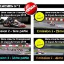 Ligue au Coteau sur KartingTV: L'émission est en ligne