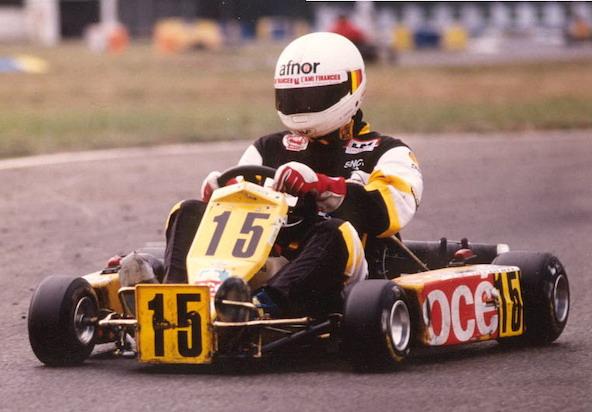 Victoire en 1990 avec l'équipe Boulineau Sport