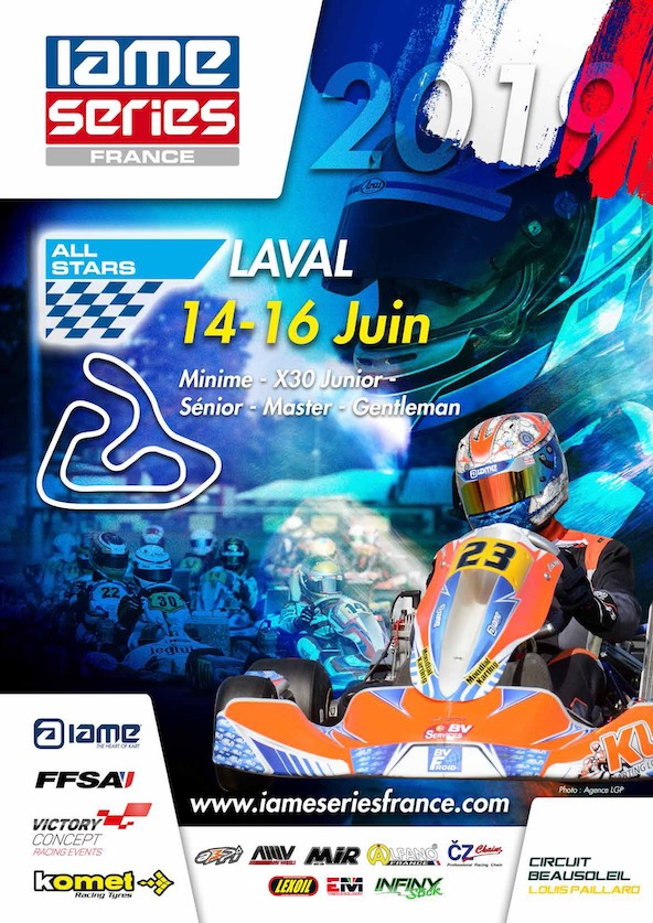 IAME Series France 2e round a Laval-Engages et horaires-1