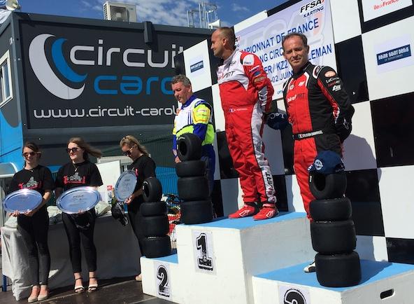 Long Circuit-KZ2 Gentleman-Portmann dans le dernier tour