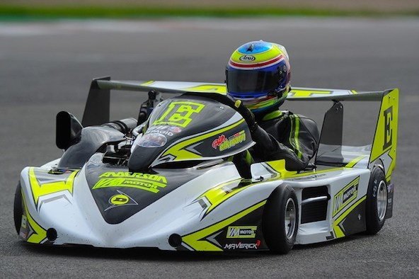 Superkart Nogaro: Peter Elkmann déjà Champion de France?