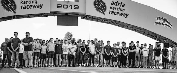 L'équipe BRP-Rotax étant autrichienne, un hommage à Niki Lauda s'imposait.