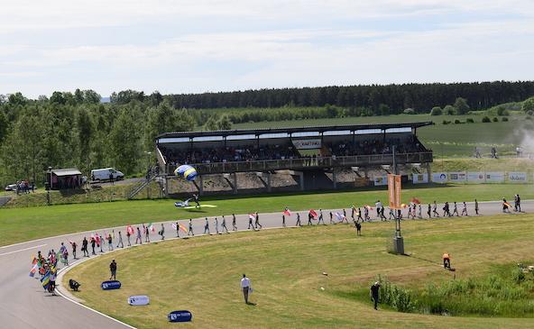 Un show savamment orchestree au Championnat d Europe en Suede-5