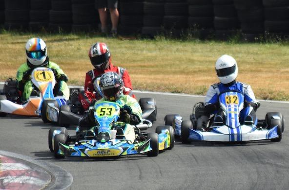 Duels pour le podium en KFS 160