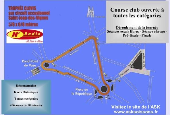 Courir dans le centre ville de Soissons au Trophee Clovis-2