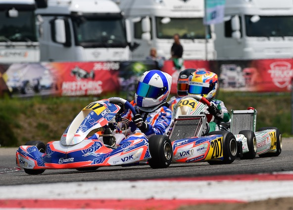 Marcus Amand ira au Mans pour tenter de décrocher le titre de Champion d'Europe Junior (Photo Joël Gaboriaud)