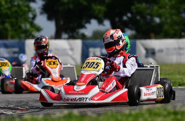 Pierre Loubère (305) et Hubert Petit (306) seront à suivre de près en KZ2