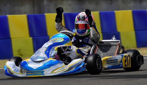Victoire du protégé d'AMG-Mercedes Kimi Antonelli, qui remonte 2e du Championnat