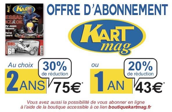 Pensez a nos offres d abonnement Kart Mag