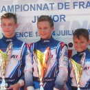 Valence Junior: Esteban Masson, Champion de France, ou presque