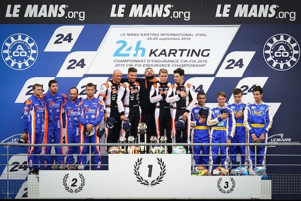 24H du Mans Karting-Sodi double la mise-SO24-KMD 1er GP2-1