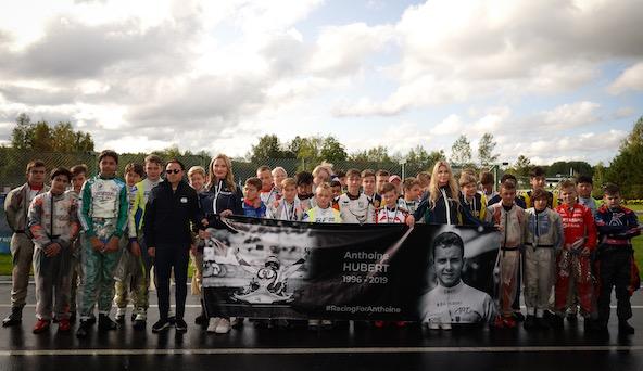 En Finlande en présence du Président Felipe Massa ors de la présentation de la finale des Junior (Photo CIK-FIA / KSP Reportages)