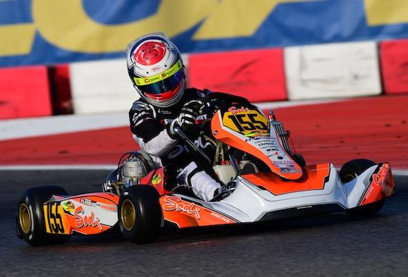 Thomas Landais, la bonne surprise française de cette épreuve mondiale en KZ2