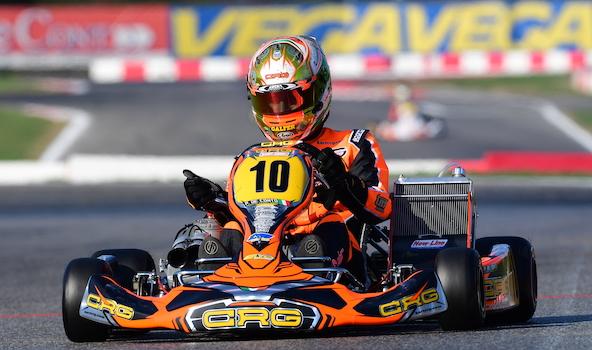 Avec ses nouvelles couleurs et sa remontée en 5e position, le pilote CRG Paolo De Conto n'est pas passé inaperçu.