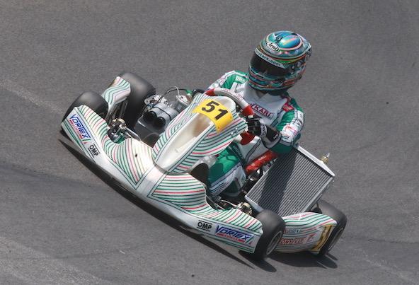 Marco Ardigo arborera son traditionnel n°51... pour la dernière fois de sa carrière en Championnat du Monde !