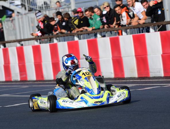 Thomas Ten Brinke, Champion du Monde Junior