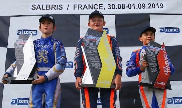Podium similaire en X30 Mini en finale à Salbris comme au championnat