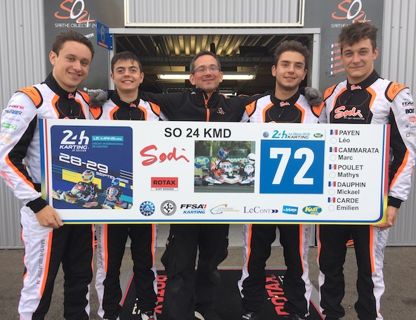 SO24-KMD en pole en GP2