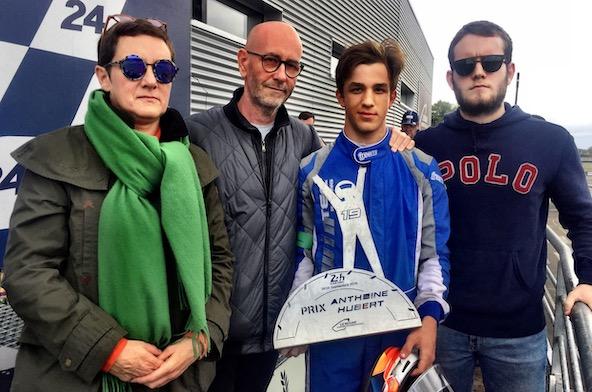 24H-Evann Mallet remporte le 1er Prix Anthoine Hubert