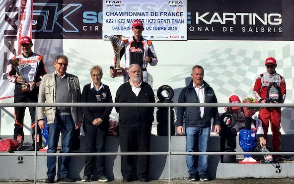 Championnat de France KZ2-Quand Hubert Petit rime avec Salbris-1