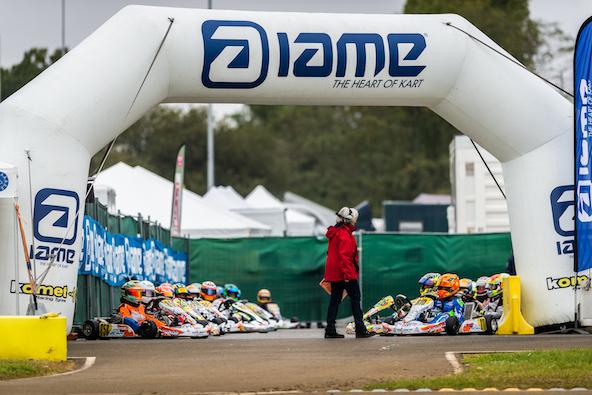 De magnifiques grilles de départ à la Finale Internationale IAME