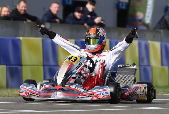 Johan Renaux, vainqueur en X30 Master