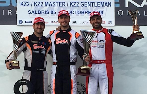 KZ2 Master-Charles Fiault confirme sa grande forme-1