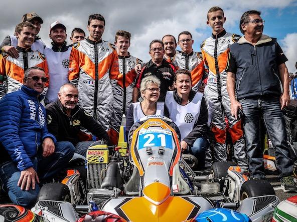 L'ASK Val de Loire a également animé les 24 Heures Karting