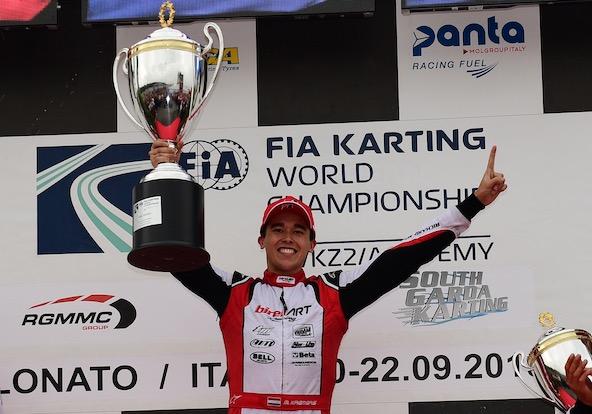 Le Champion du Monde KZ Marijn Kremers fait partie des finalistes (Photo Joël Gaboriaud)