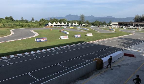 Une partie du circuit de Langkawi