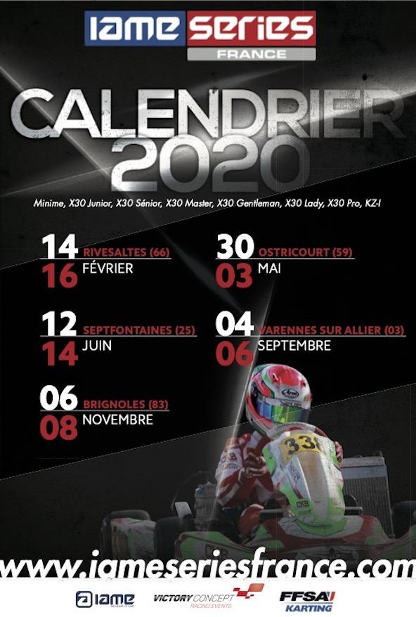 5 meetings et des nouveautes en 2020 pour la IAME Series France-1