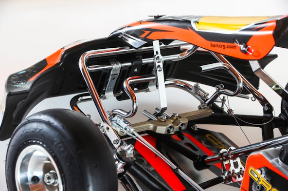 CRG presente ses nouveaux chassis Mini homologues CIK-2