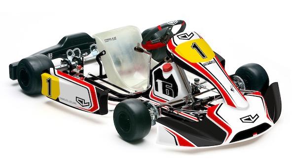 Charles Leclerc lance sa gamme de chassis de Karting