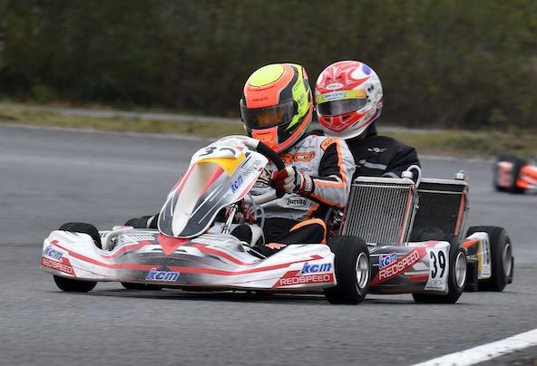Laurent Marchandise en KZ2 à Salbris