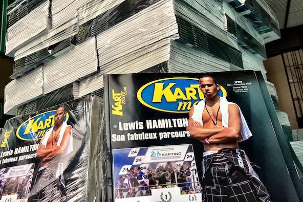 Les 12000 exemplaires du nouveau Kart Mag ont bien été livrés, ainsi que les numéros pour les abonnés...