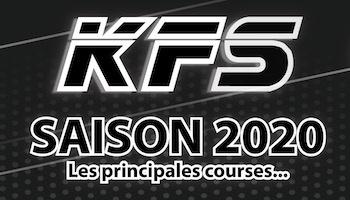 Le calendrier des courses KFS 2020 est disponible